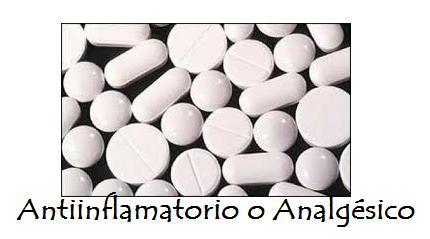 Antiinflamtorio o Analgésico