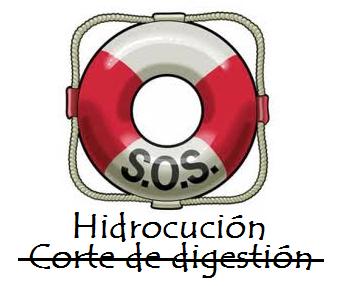Corte de digestión: Hidrocución