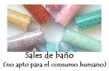 Droga caníbal, Sales de Baño